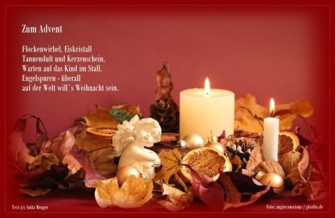 Kurze Weihnachtsgedichte Weihnachtsgrüße Verse Zur Adventszeit